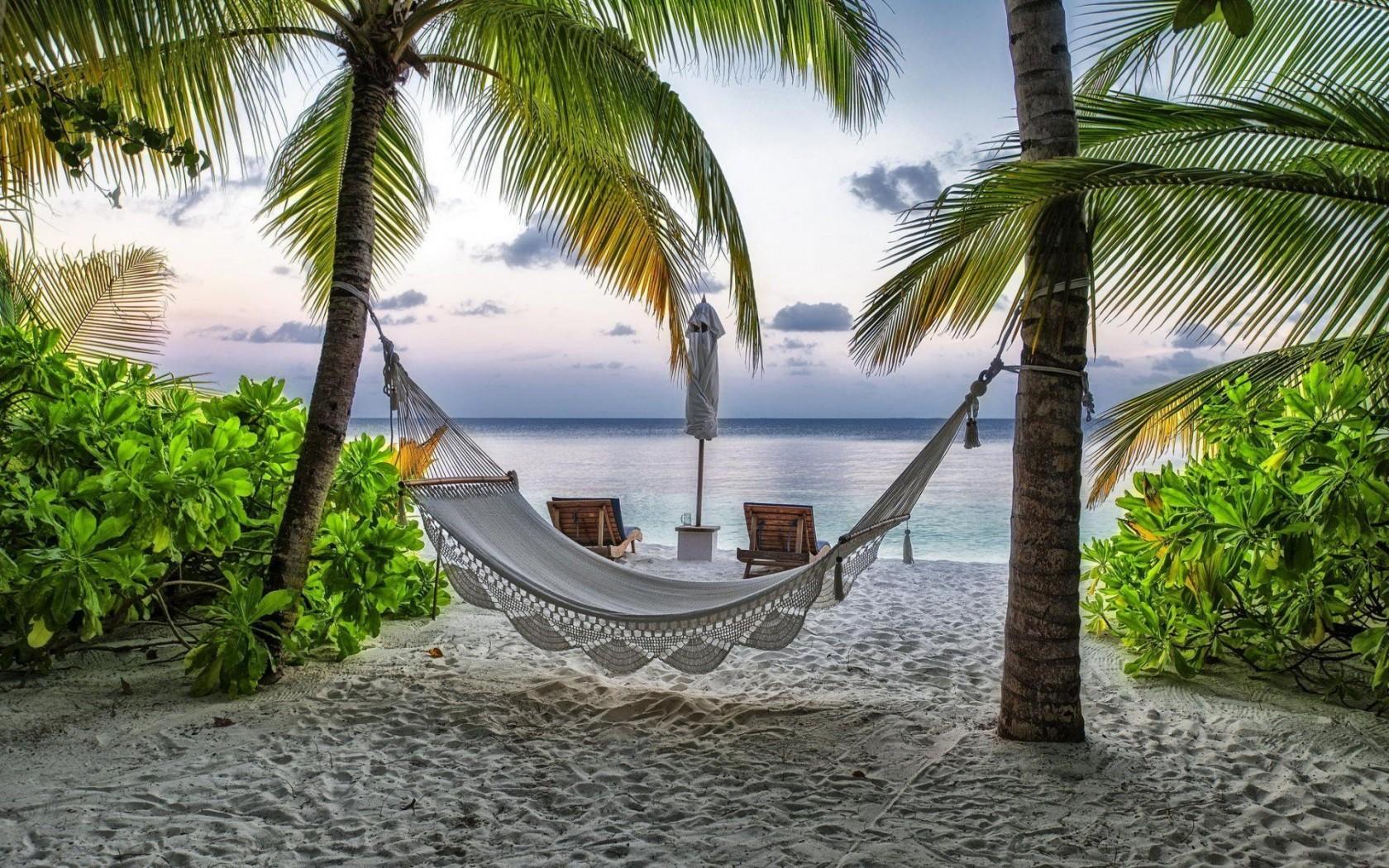 Hammock Beach Landscape Wallpaper HD Download Desktop