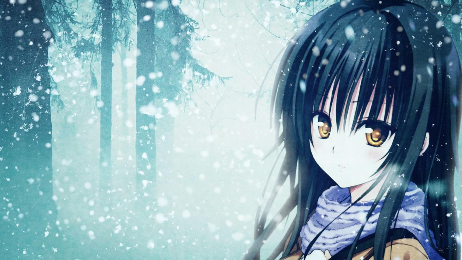 Beautiful Anime Girl Wallpaper - WallpaperSafari