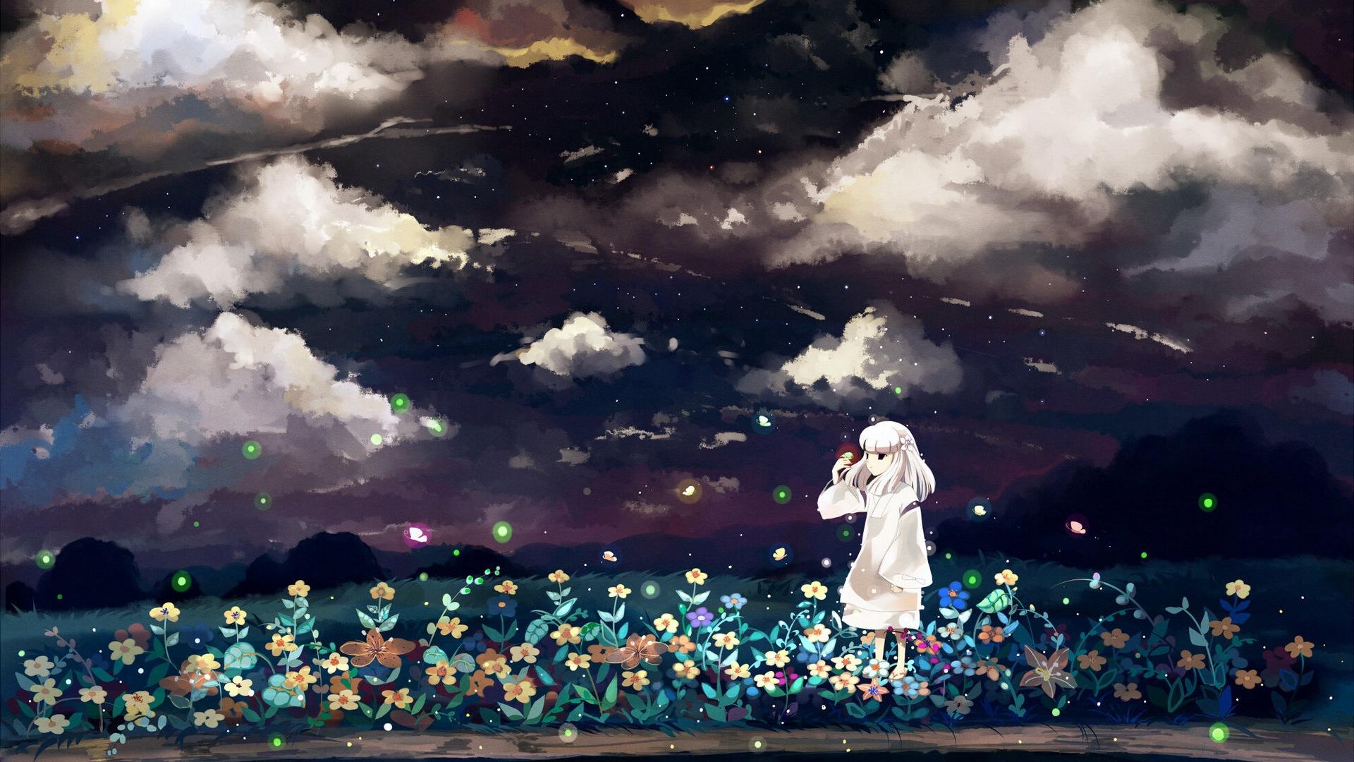 Firefly Summer beautiful anime wallpaper #9 - 1920x1080 Wallpaper