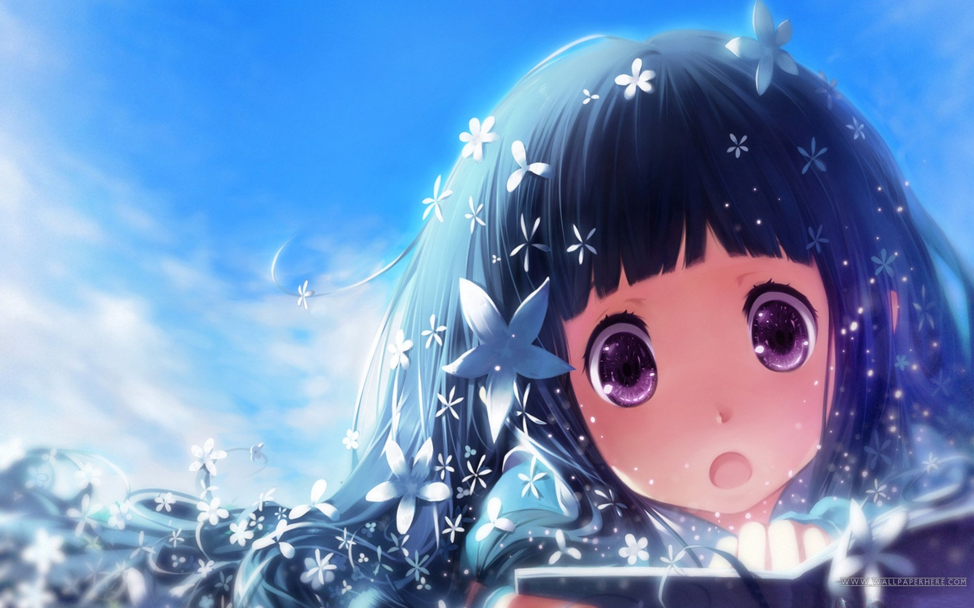 Collection of Beautiful Anime Wallpaper on HDWallpapers