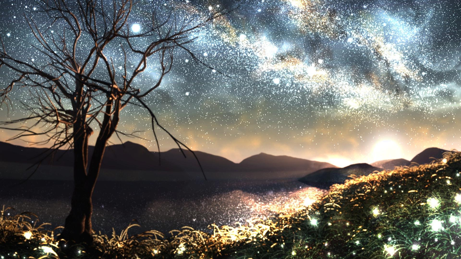 Firefly Summer beautiful anime wallpaper #6 - 1920x1080 Wallpaper