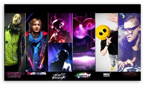 The Best DJ's HD desktop wallpaper : Widescreen : Fullscreen