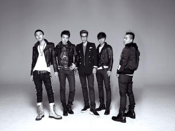 Update Wallpaper Black and Whit BIG BANG HD Wallpaper Korean Kpop