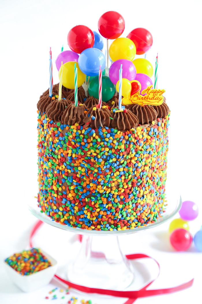 The Birthday Cake! | Sprinkle Bakes