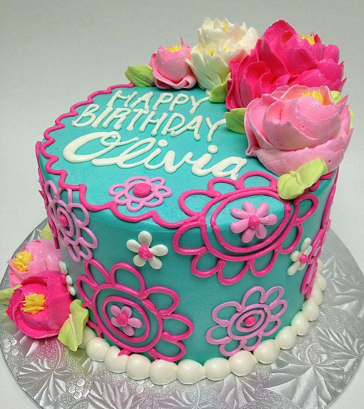 1000+ ideas about Girl Birthday Cakes on Pinterest | Girl cakes