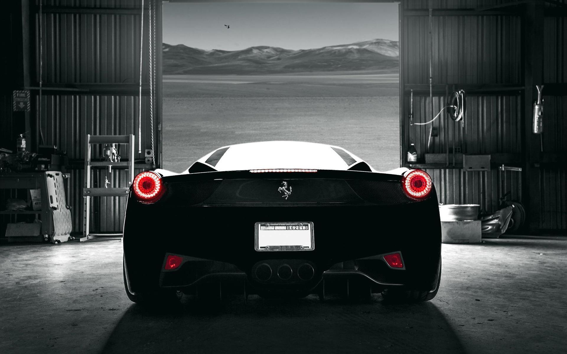 Black Ferrari Wallpapers Sf Wallpaper