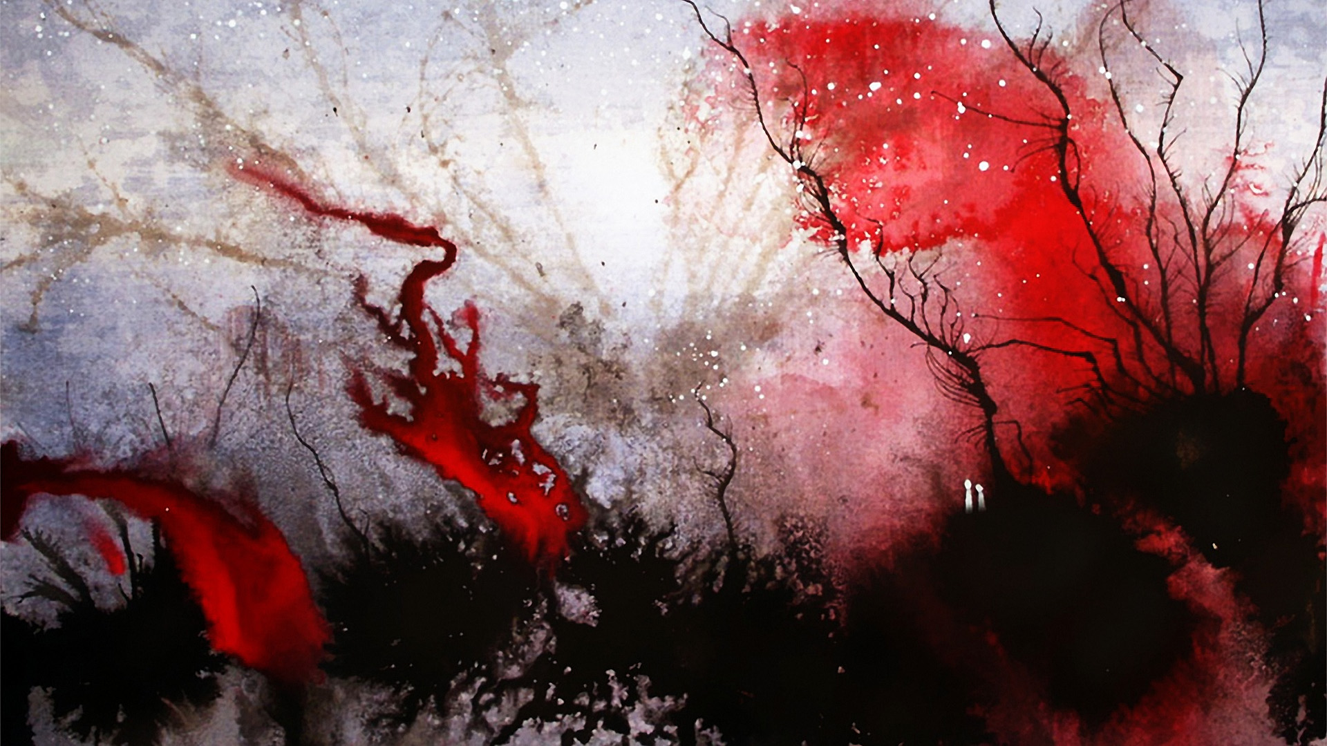 первый обои кровавые на рабочий стол даче