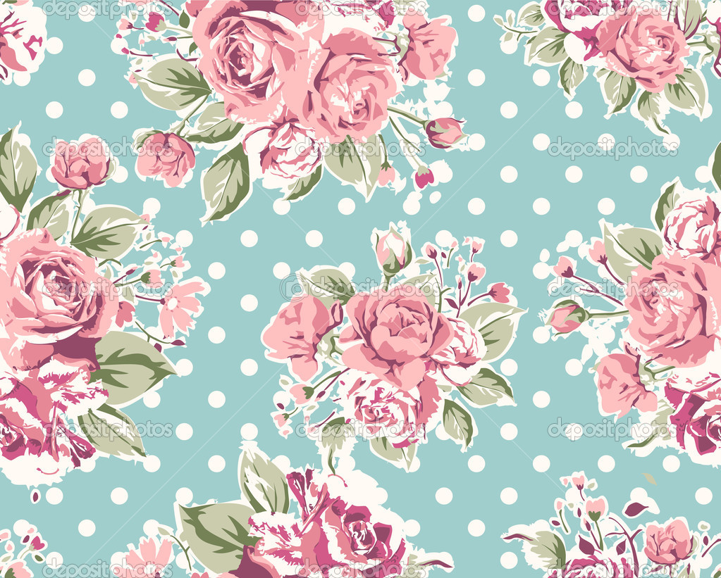 Background Floral Vintage Tumblr