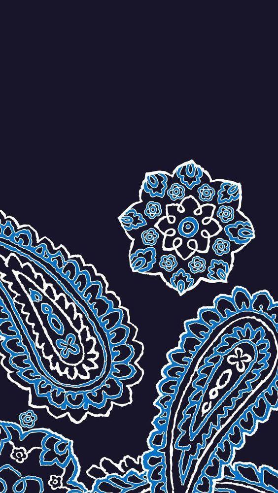Blue Bandana Mobile Wallpaper Download | Tech Wallpapers