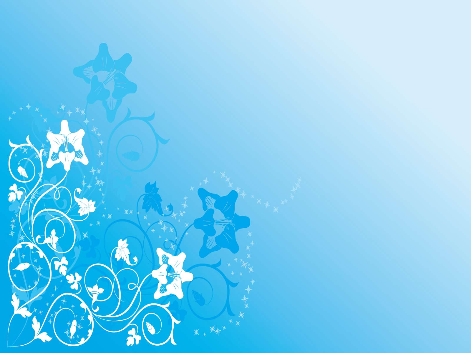 Blue Flower Backgrounds Sf Wallpaper