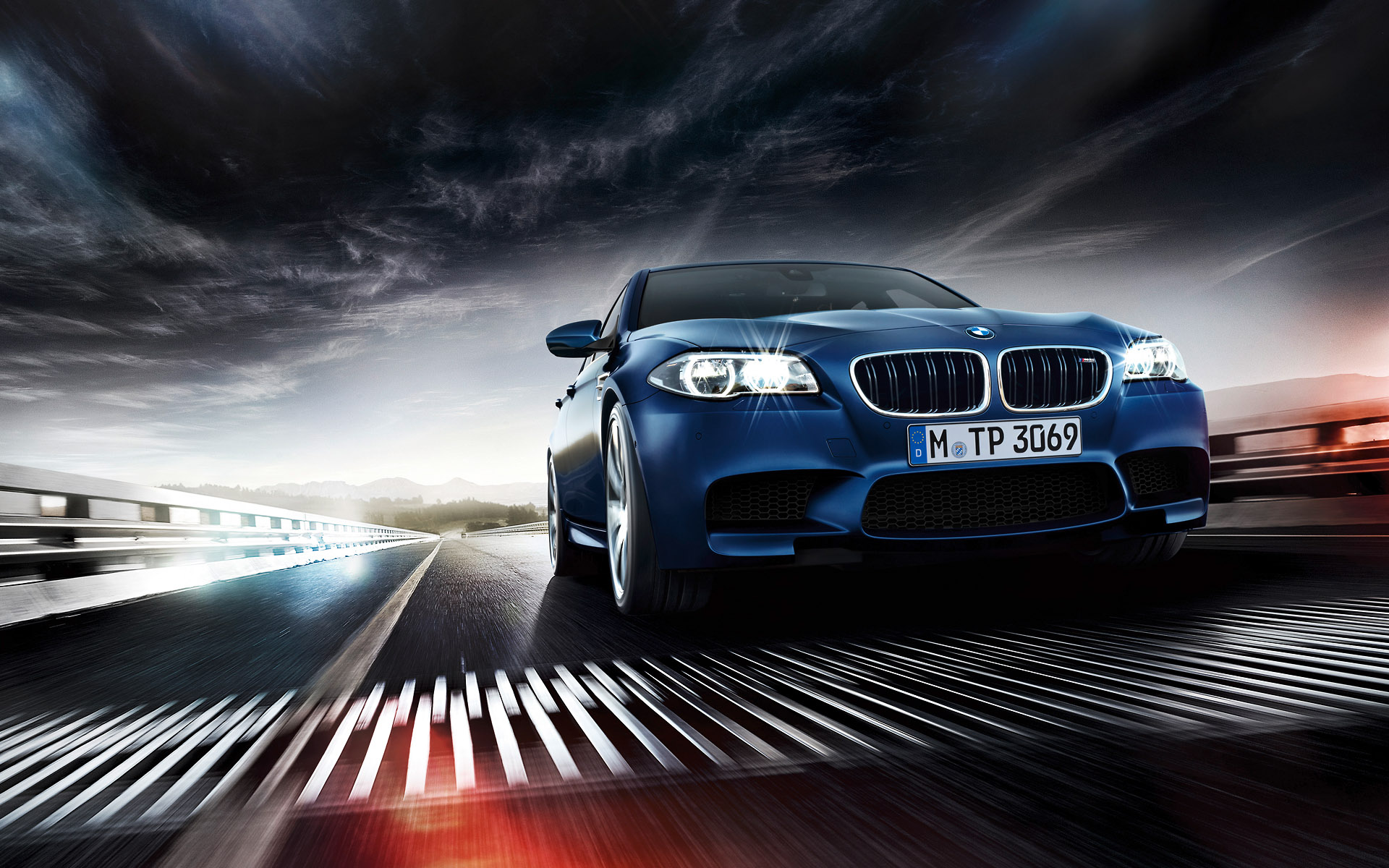 Wallpapers: BMW M5 Facelift