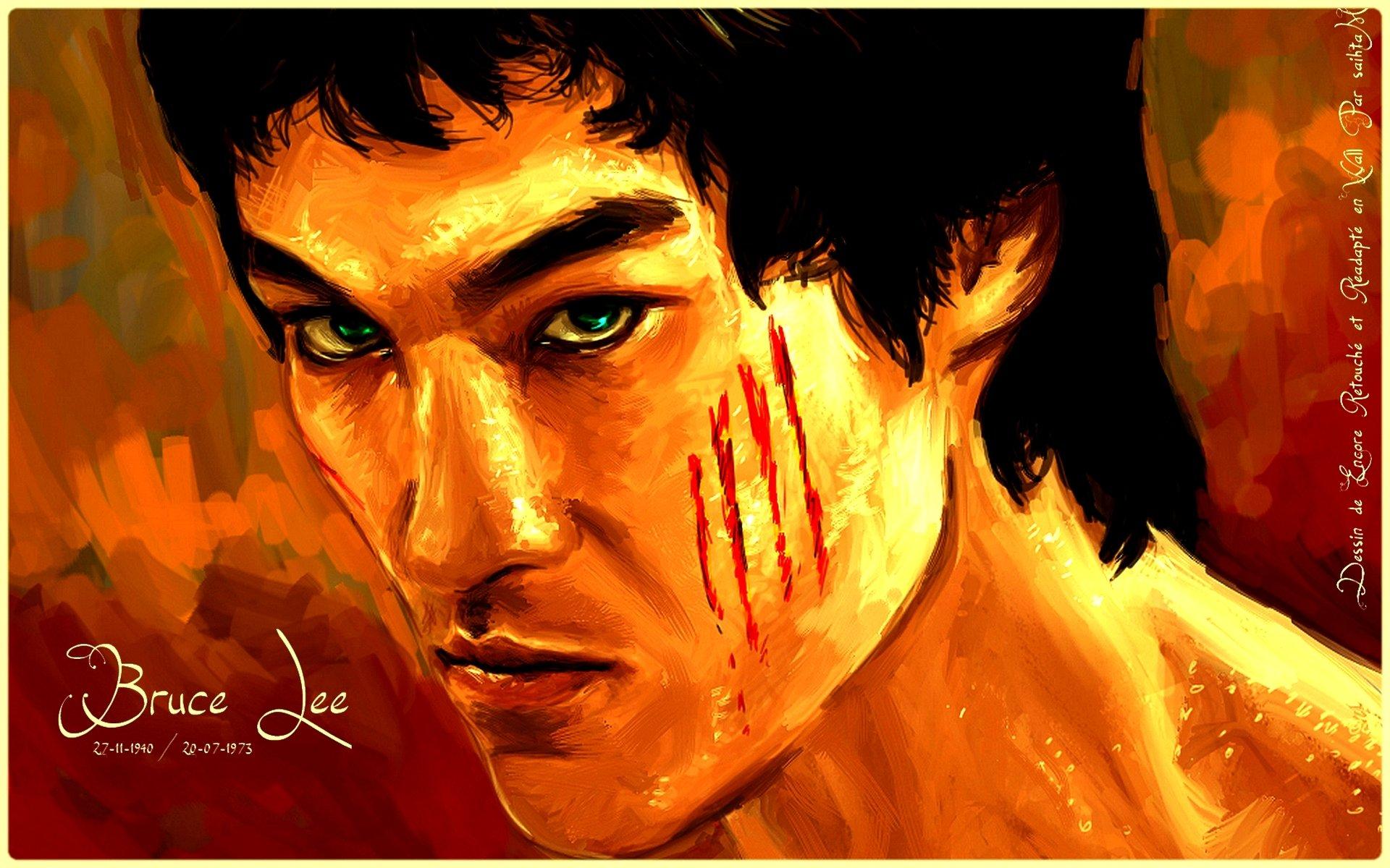 Bruce Lee Wallpapers Hd Wallpaper