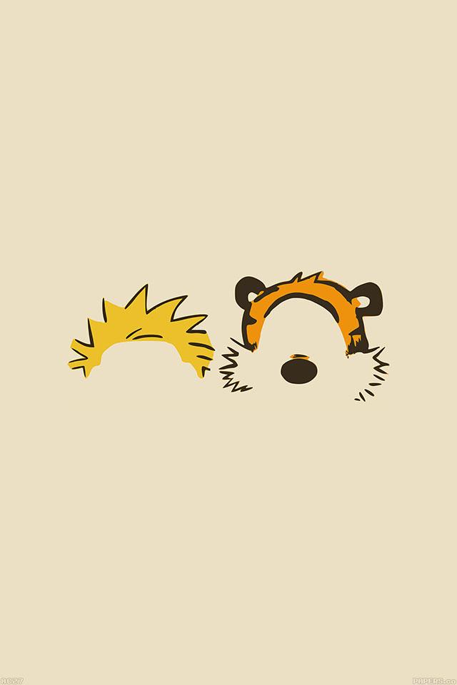 Download Calvin and Hobbes iPhone wallpaper