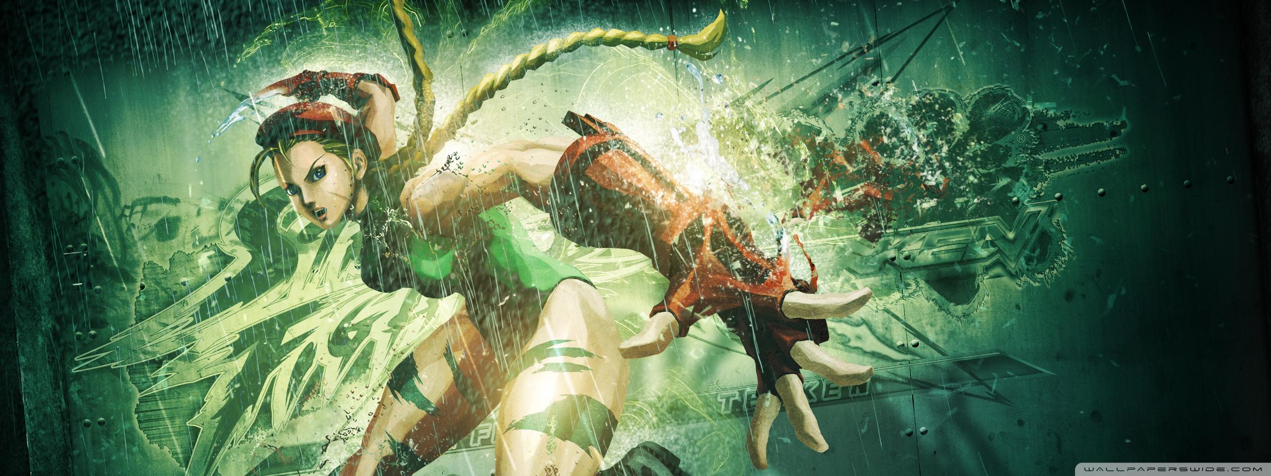 Street Fighter X Tekken (2012) Cammy HD desktop wallpaper : High