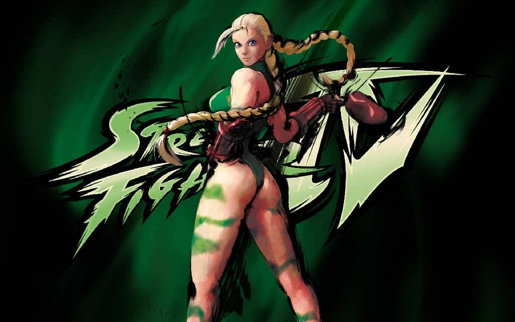 street fighter iv cammy on green - Street Fighter Wallpaper