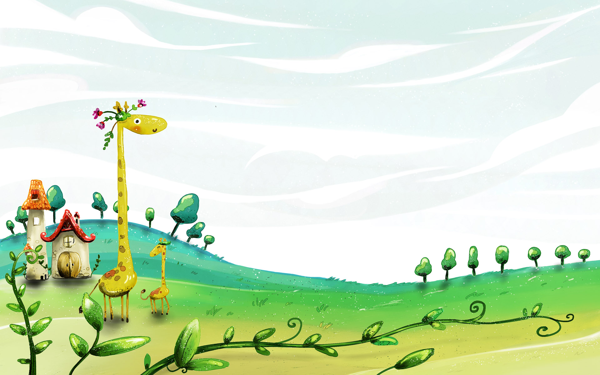 Collection of Cartoon Background Hd on HDWallpapers