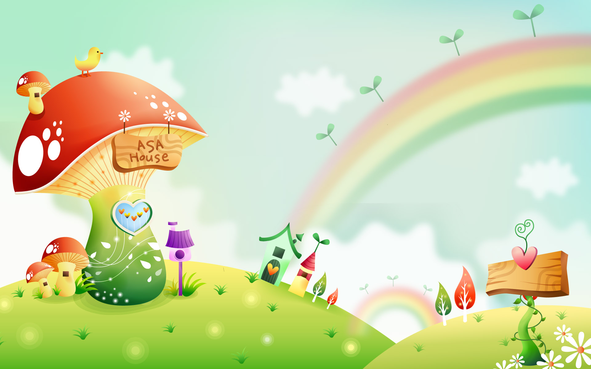 Collection of Cartoon Background on HDWallpapers