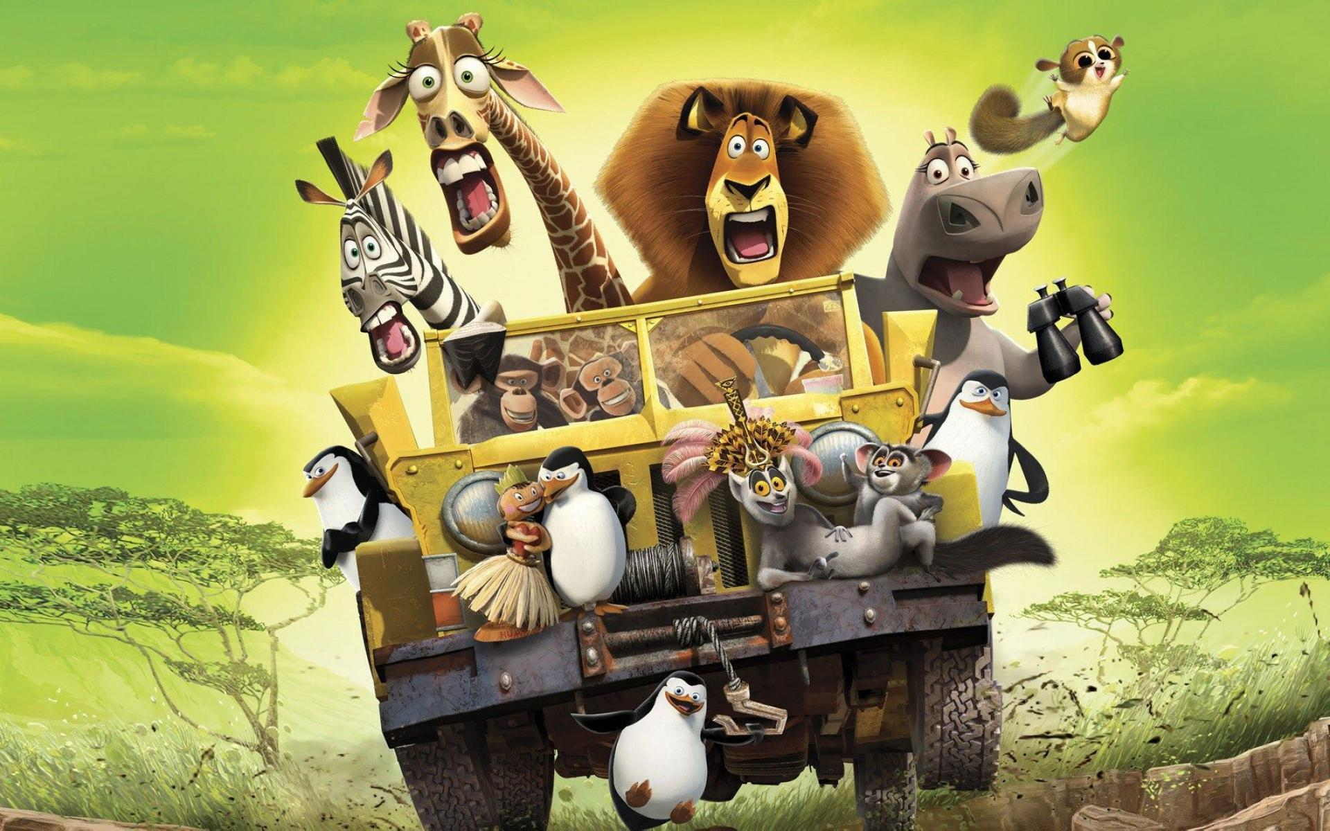 Madagascar Movie Wallpapers Group (77+)