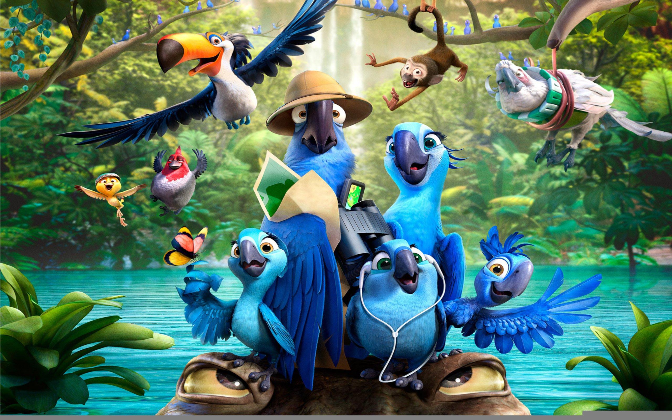 Rio 2 Cartoon Movie wallpaper | 2560x1600 | #9575