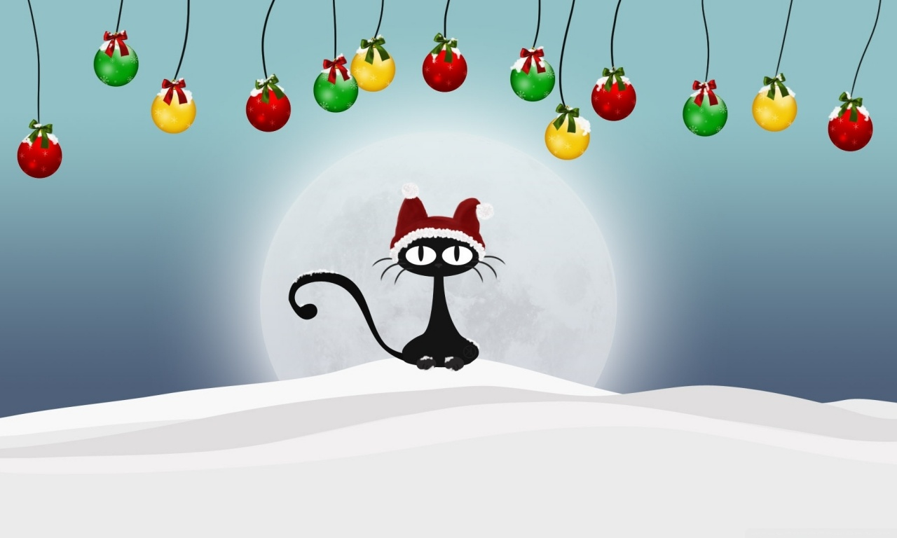 Collection of Cat Christmas Wallpaper on HDWallpapers