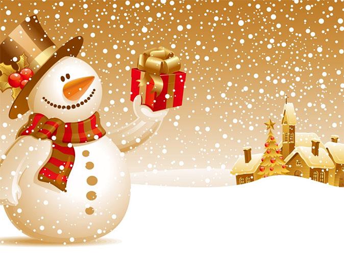 christmas free desktop wallpaper
