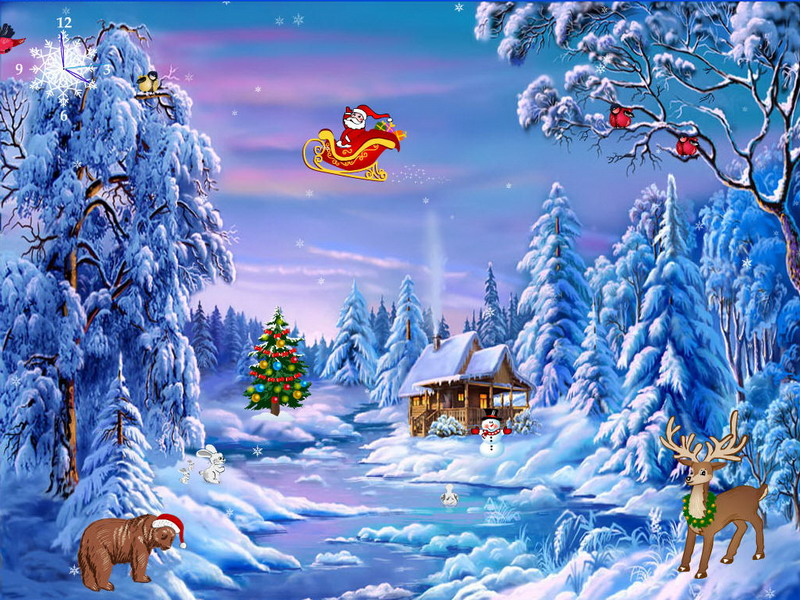 Free Christmas Wallpapers Download Group (86+)