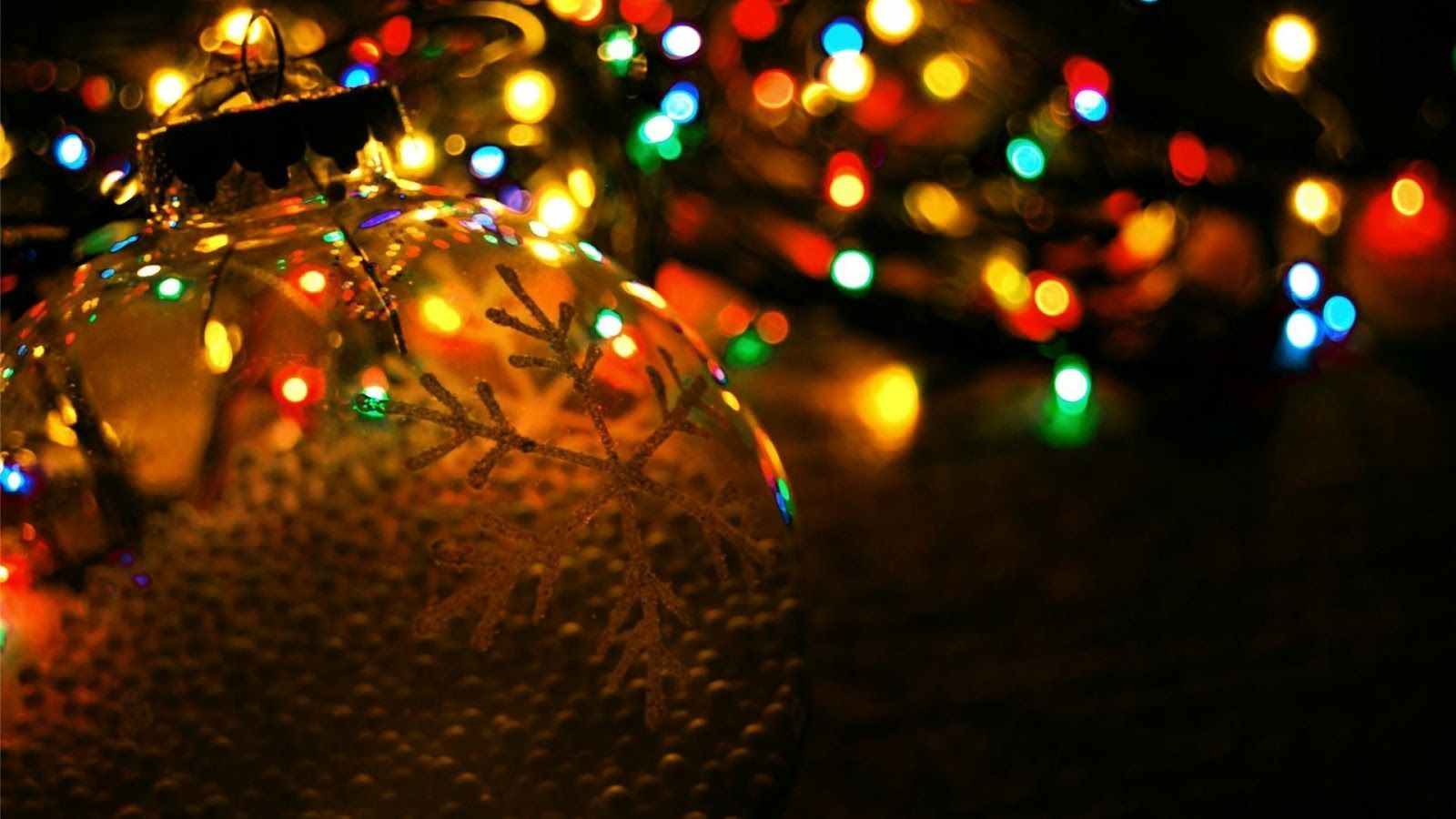 christmas light wallpaper 2