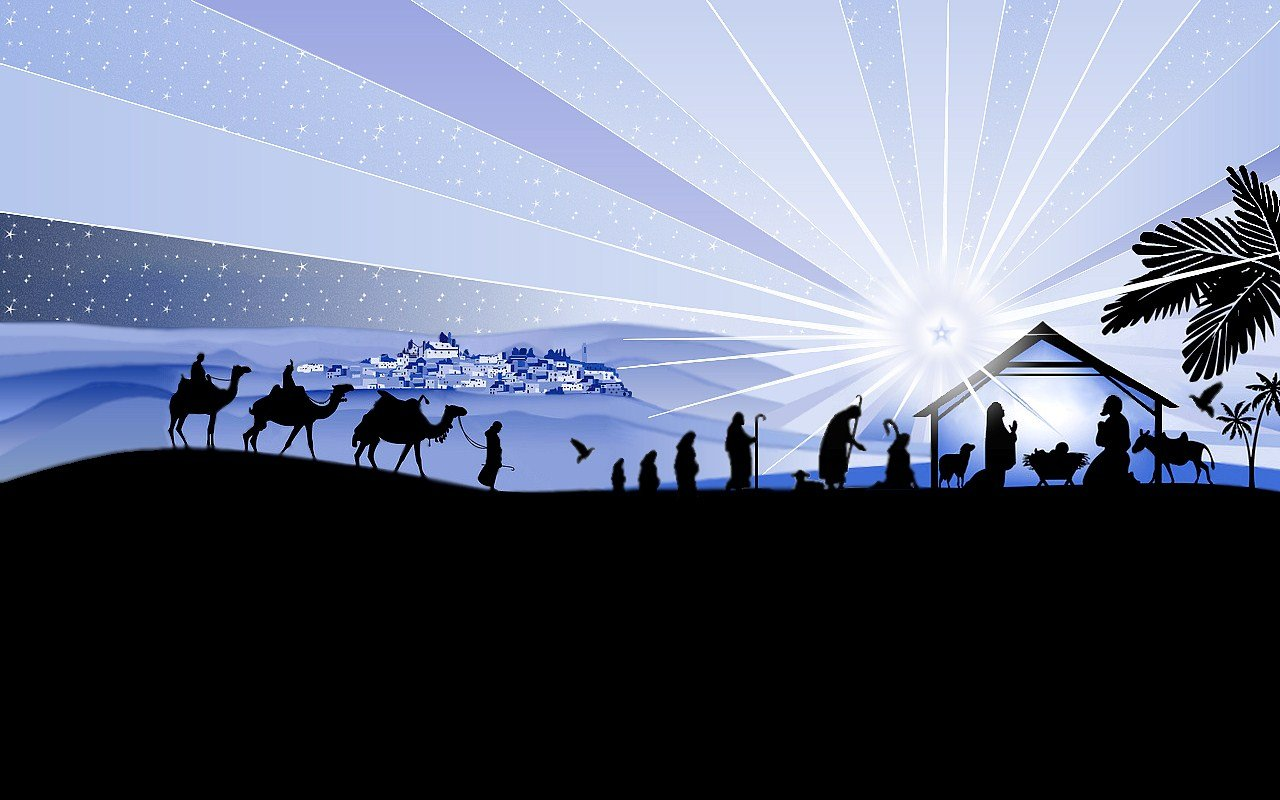 Christmas Nativity Background Images – Happy Holidays!