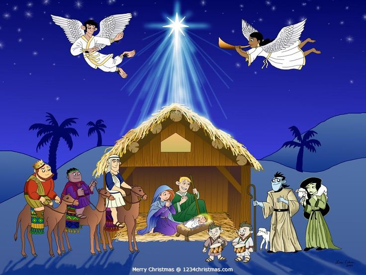 Christmas Nativity Scene Wallpaper | Christmas Nativity Scenes