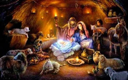 Christmas Nativity Scene Wallpaper - WallpaperSafari