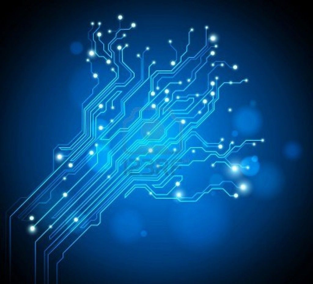 Blue Circuits Wallpaper Circuit Board Pattern Bluecircuit Wallpapers Cave