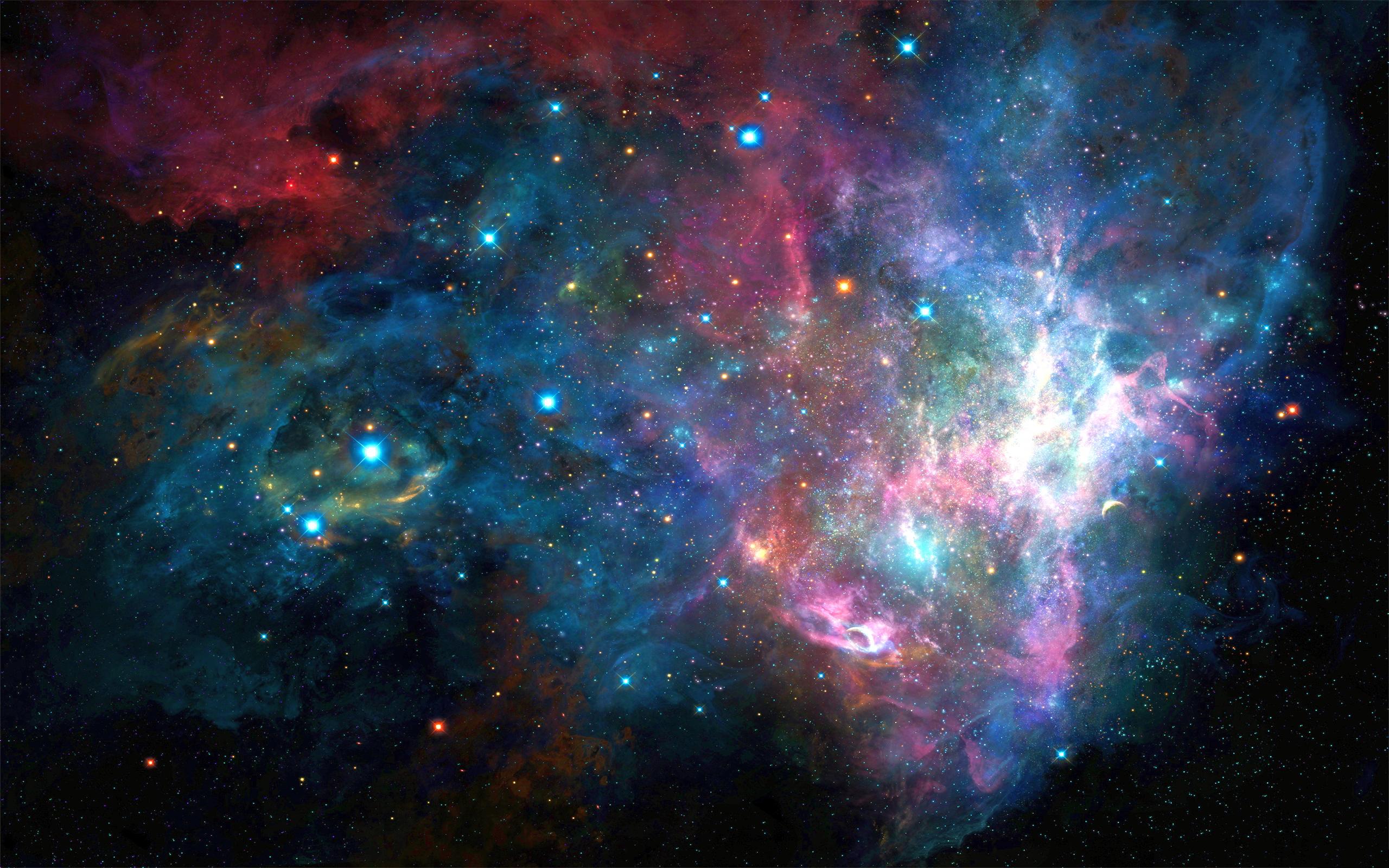 Colorful Galaxy Wallpaper