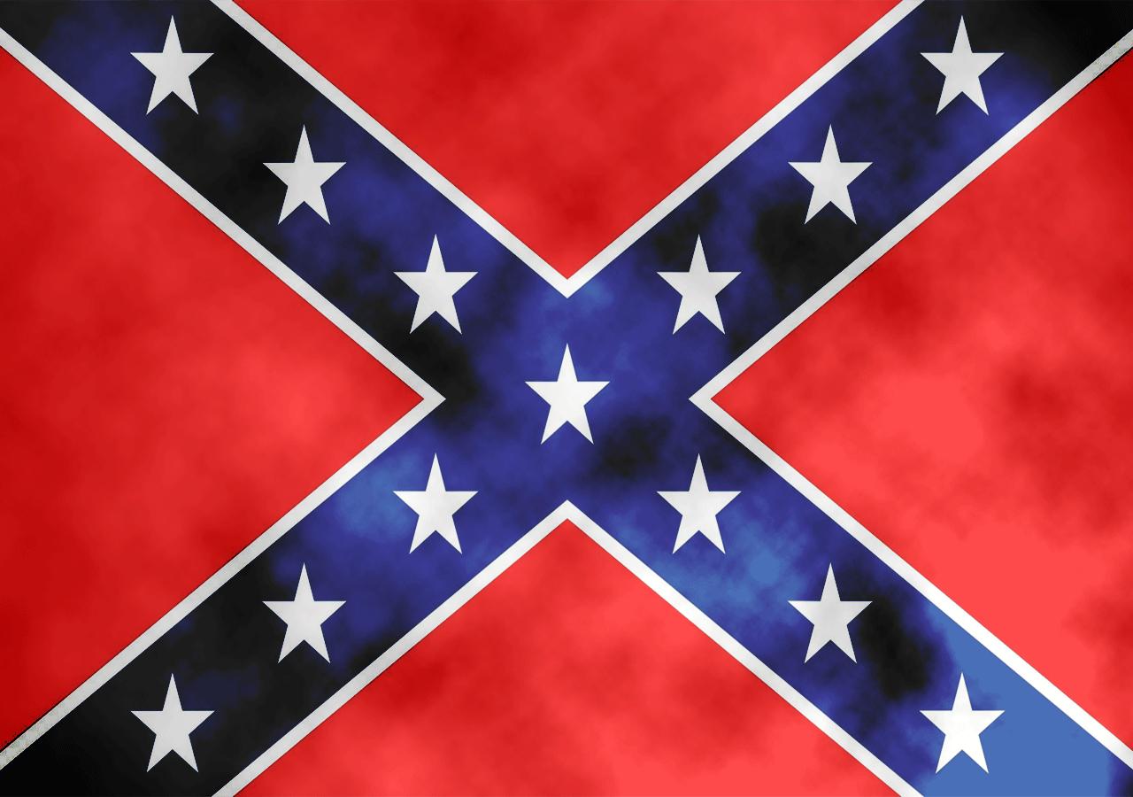 нужно заготовить фото флаг конфедерации расположен живописном берегу