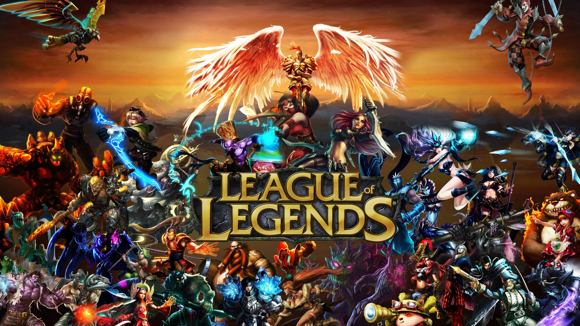 League Of Legends Wallpaper For Android ~ Sdeerwallpaper