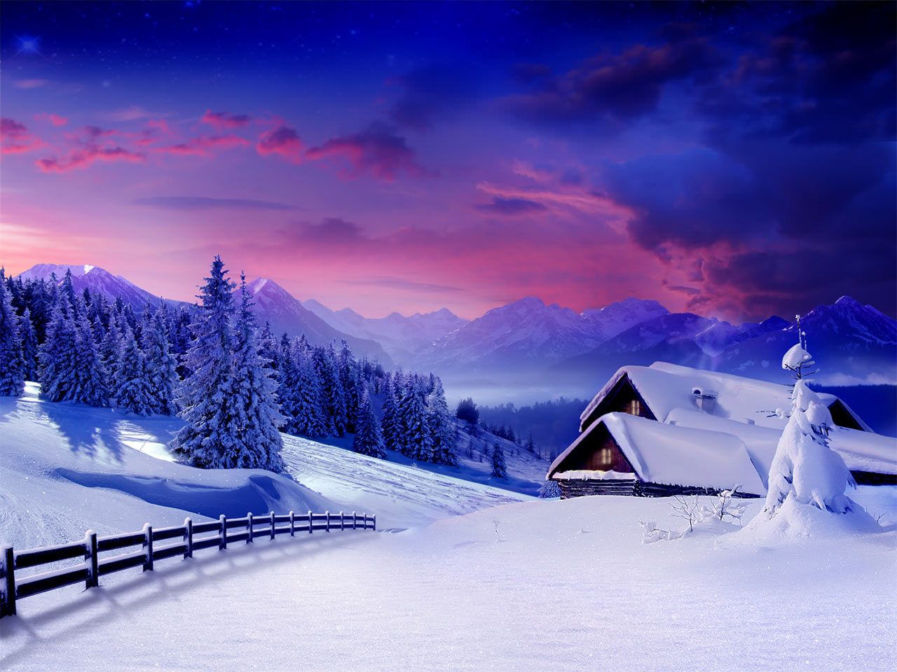 Cool Snow Backgrounds Page 1