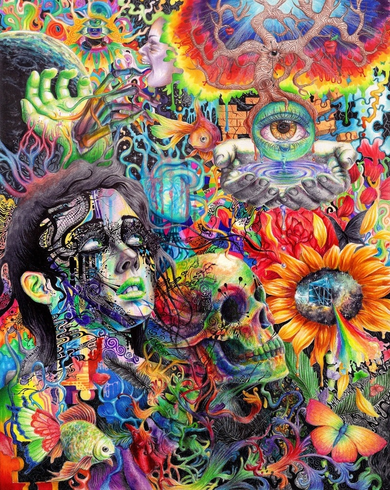 Collection of Cool Trippy Backgrounds on HDWallpapers