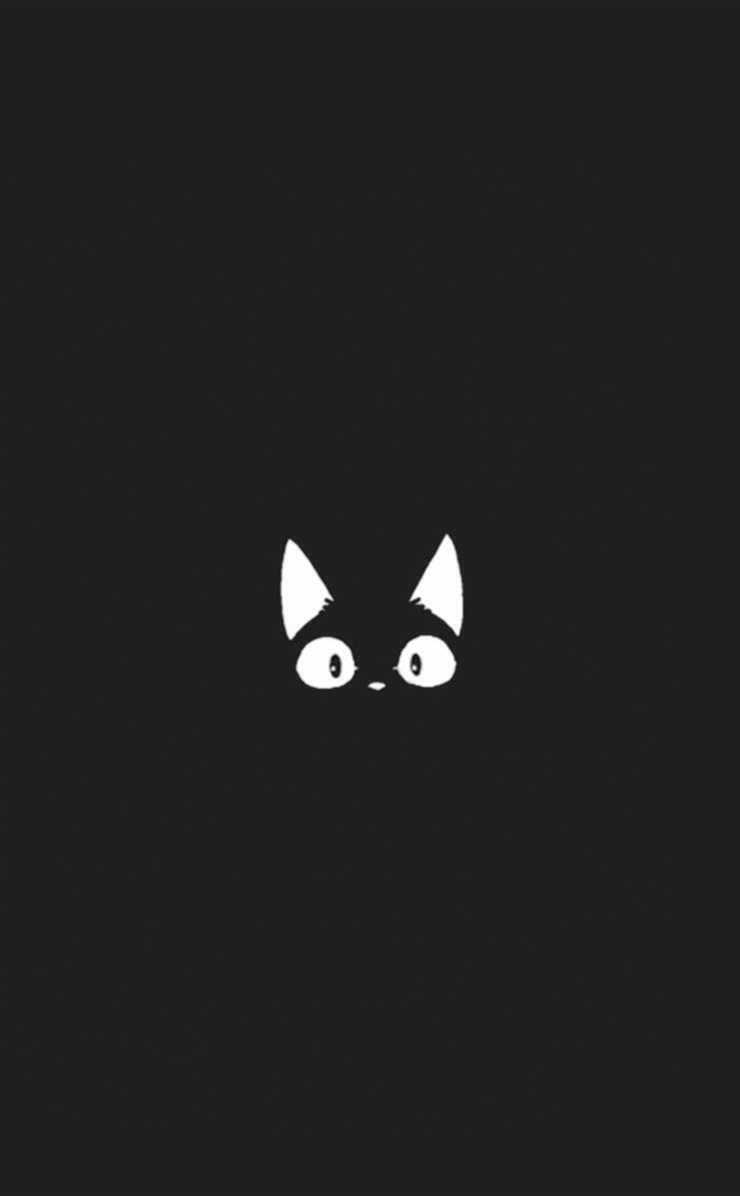 Cute Black Wallpapers Group (72+)