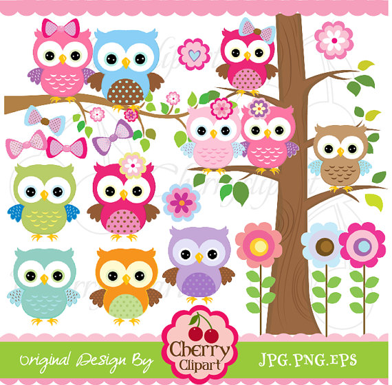 Cute owl art   Etsy