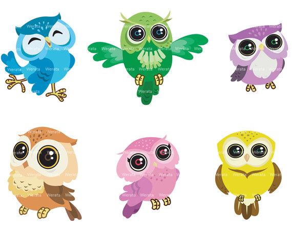 Cute Owl Clipart - Clipart Kid