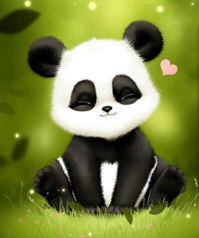 Cute baby panda art | fondos | Pinterest | Pets, So cute and Sweet