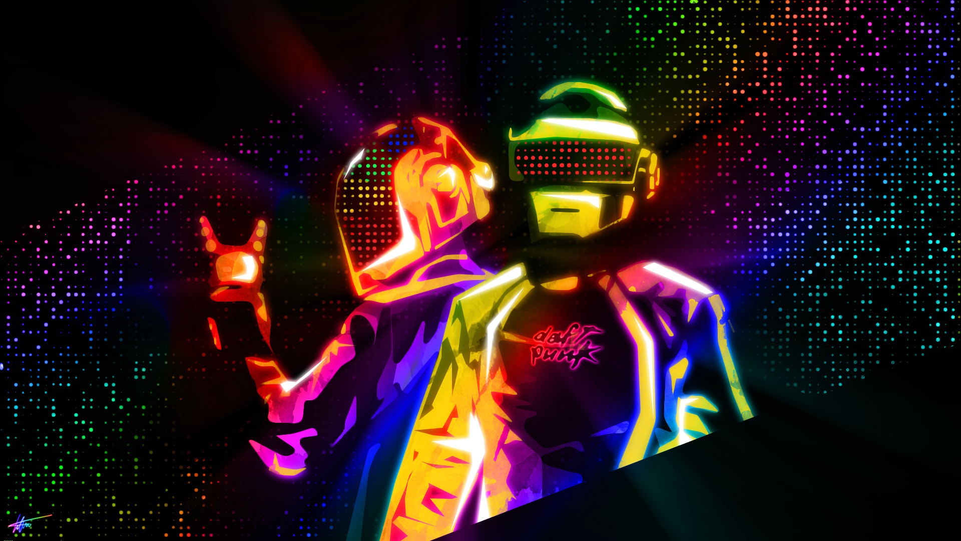 Amazing High Quality Daft Punk Pictures & Backgrounds Collection