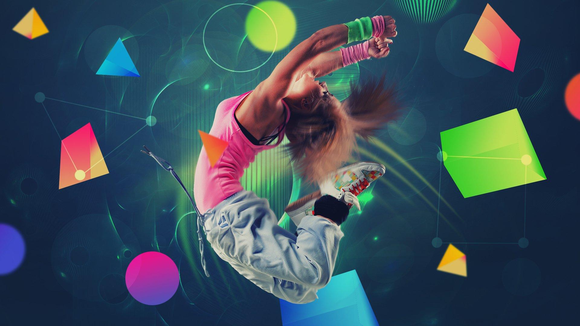 Dancing Girl Wallpaper