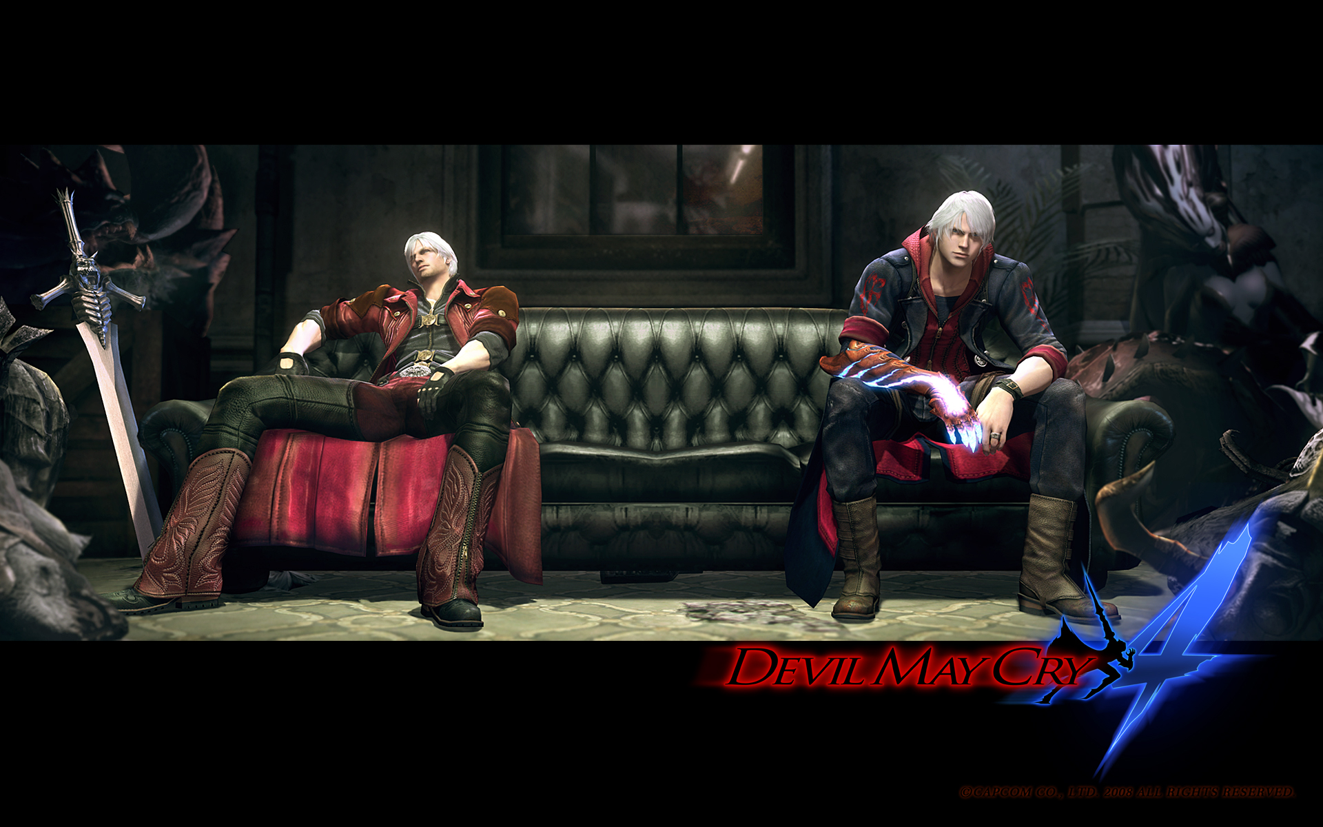 Devil May Cry 4 Dante and Nero Wallpaper | Customity