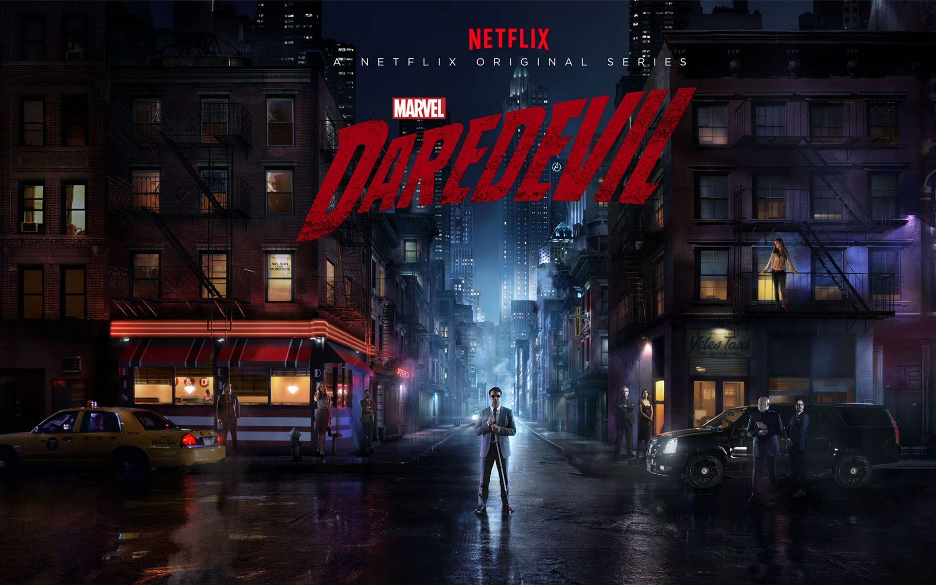 36 Daredevil HD Wallpapers | Backgrounds - Wallpaper Abyss