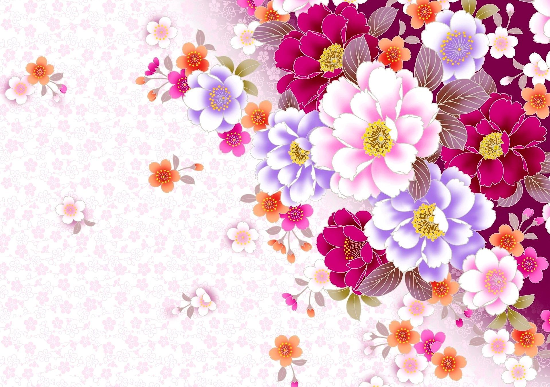 Floral Wallpaper Desktop Sf Wallpaper