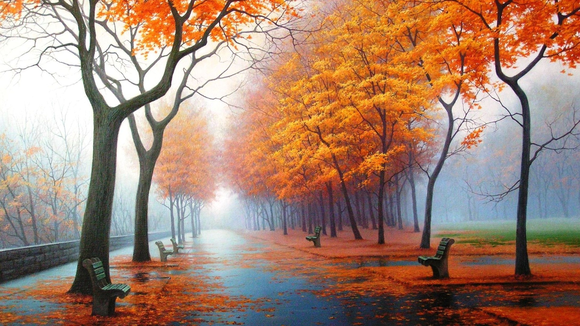 HD Fall Desktop Wallpaper - WallpaperSafari