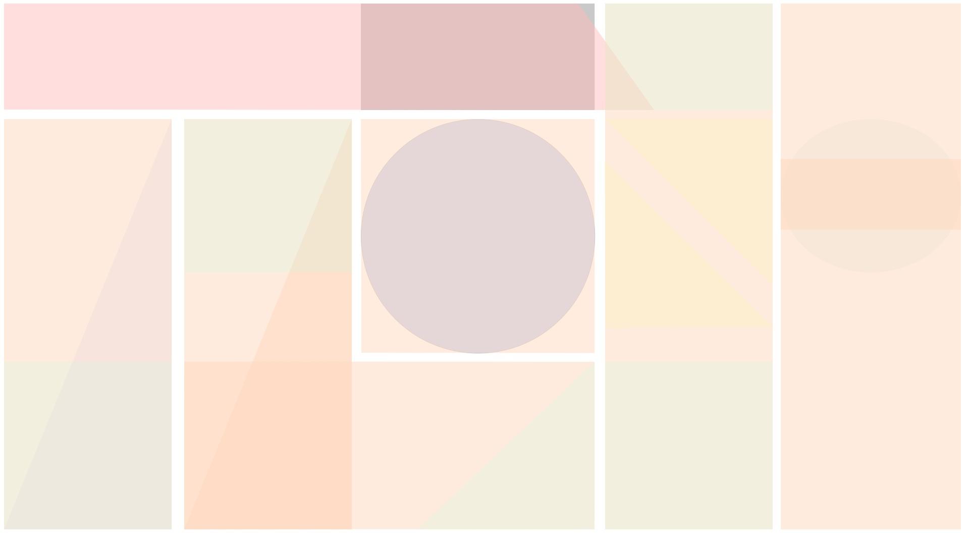 Blank pastel mint pink peach lilac geometric segment desktop
