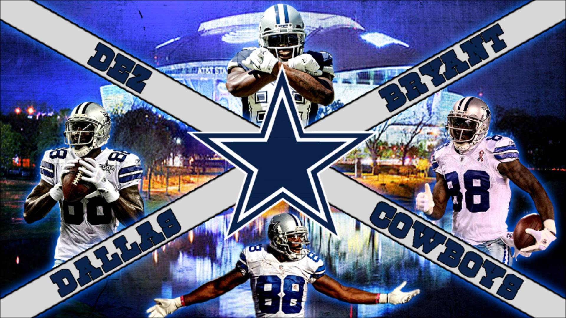 FREE NFL Dez Bryant Wallpaper - YouTube