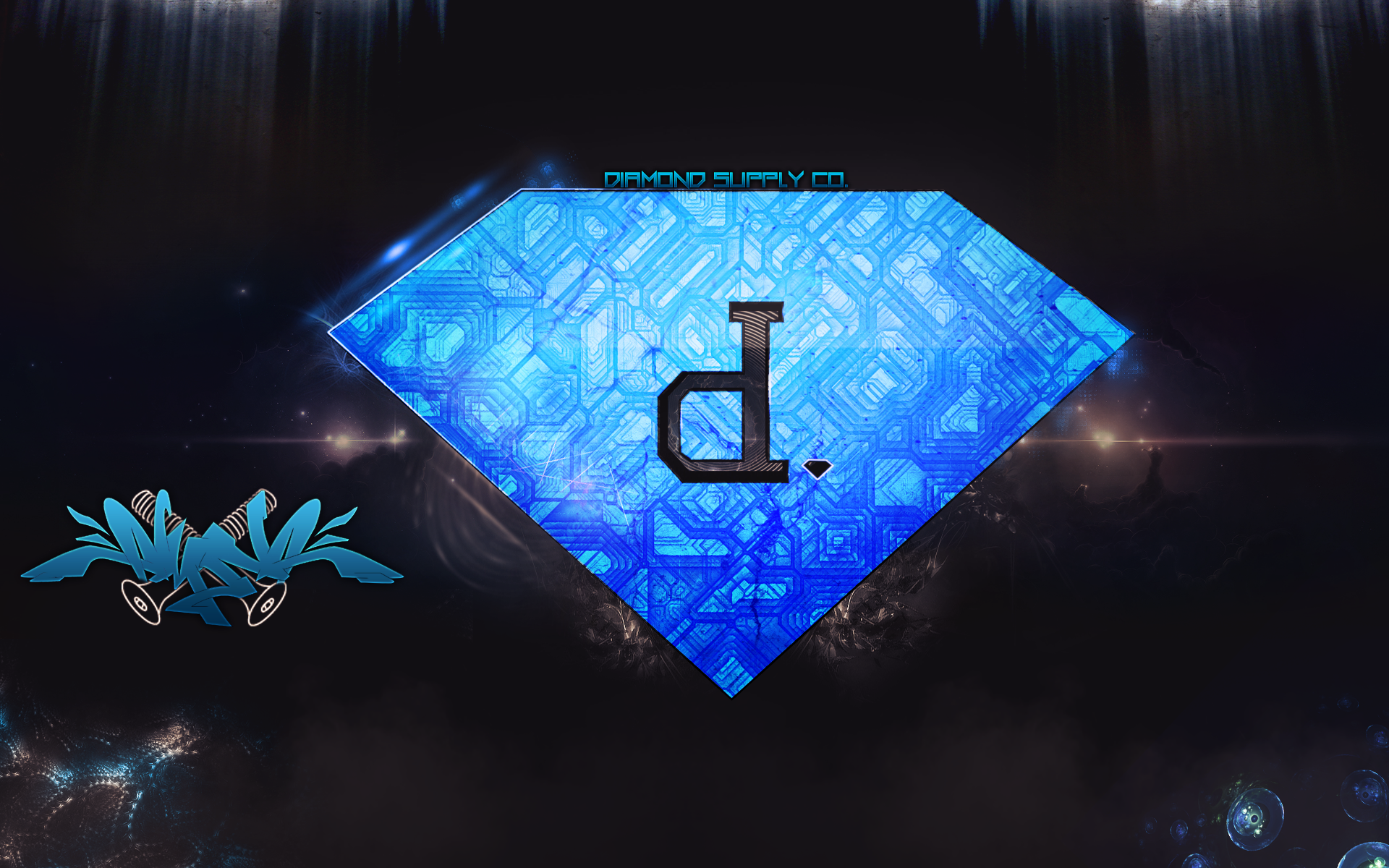 Download Diamond Supply Flowdesiigns Fan Art Other Wallpaper