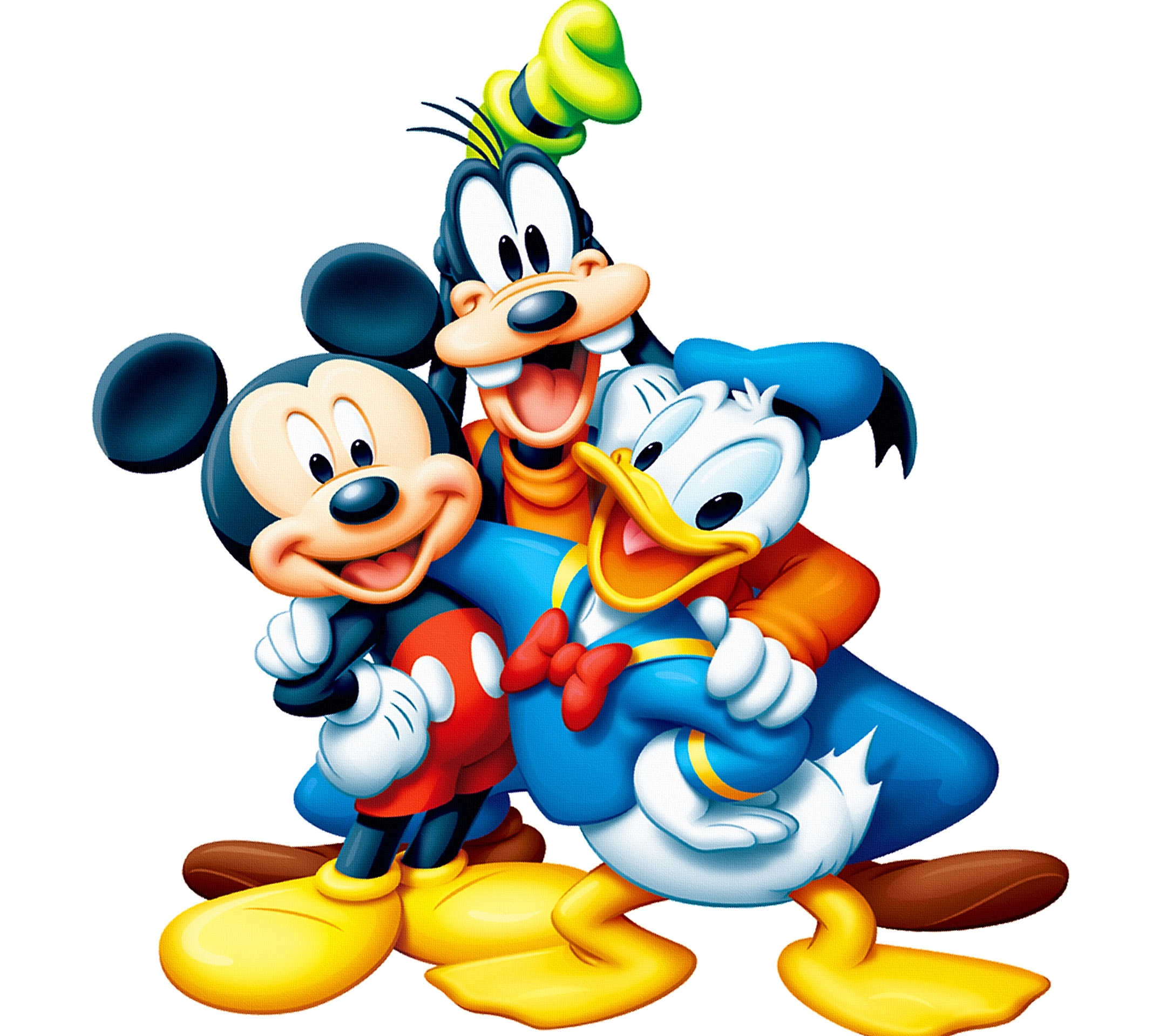Mickey Mouse Donald Duck Hd Wall Paper